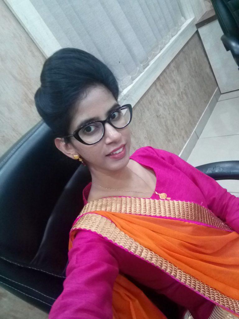 Taniya Parmar Diwali at office Pro Tree