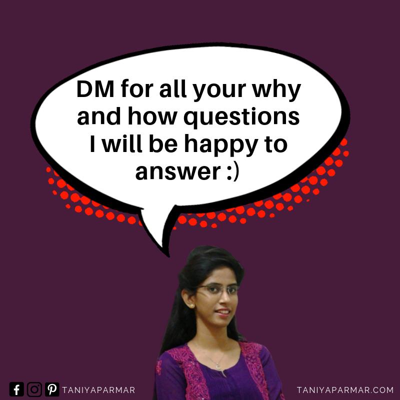 social media guru Taniya Parmar