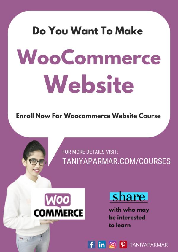 How to make Woocommerce website